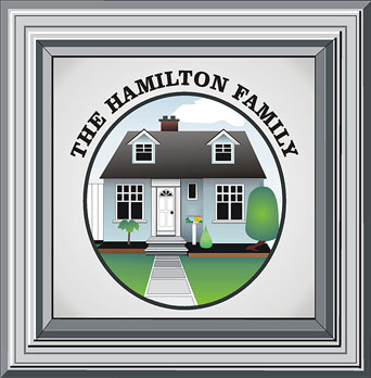 The Hamilton Family house in Acton, by Ann Hamilton